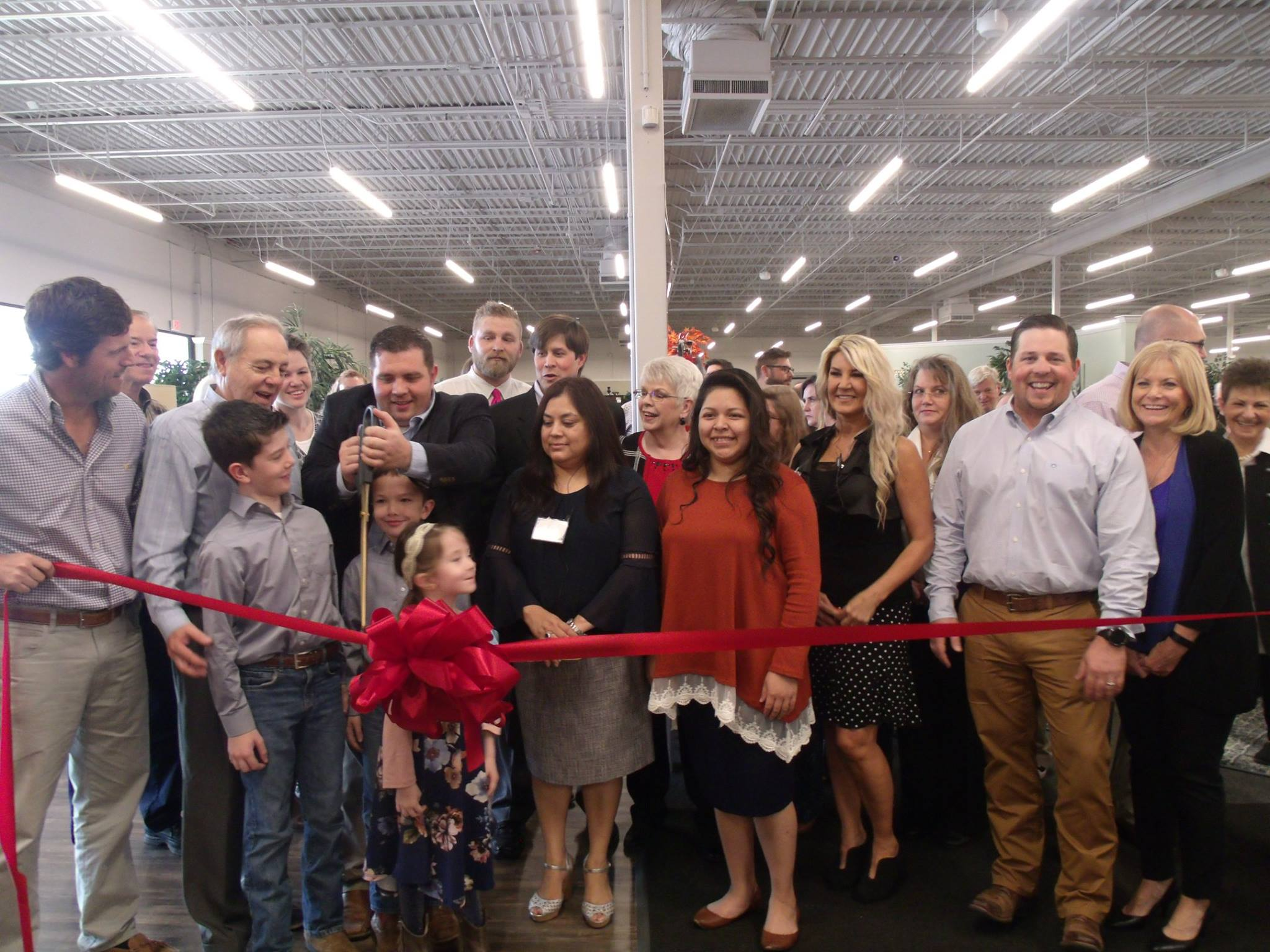 Ivan Smith Furniture Relocation Ribbon Cutting Photos